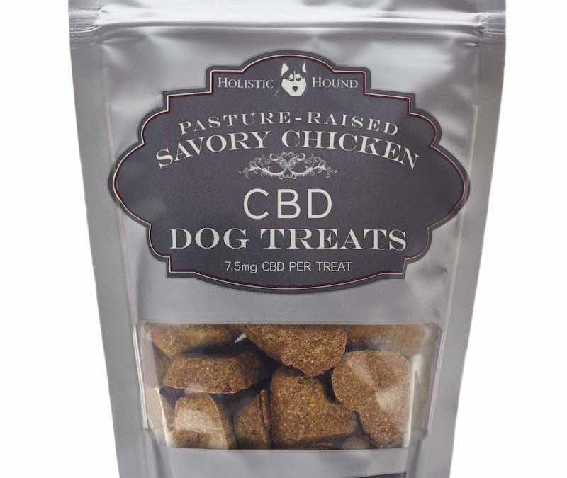 New Line of CBD/PCR Products from Holistic Hound